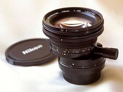 Nikon 28MM f3.5 PC-NIKKOR
