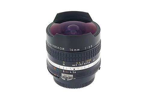 Nikon 16MM f2.8 NIKKOR Fisheye