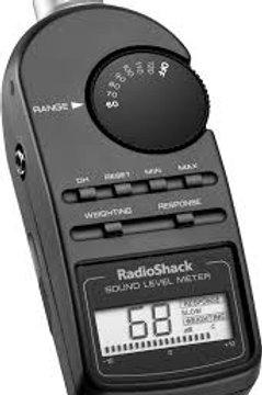 Medidor de sonido Radio Shack