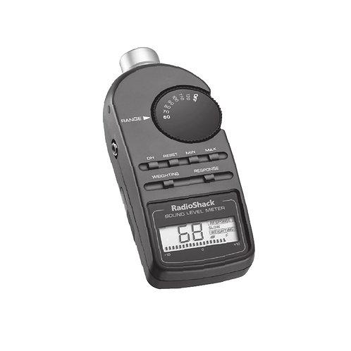 Medidor digital de nivel de sonido Radio Shack