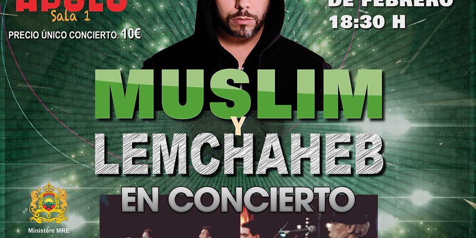 Muslim y Lemchaheb en concierto en la Sala Apolo