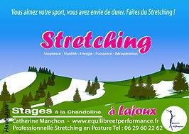 stage de stretching dédié aux sportifs