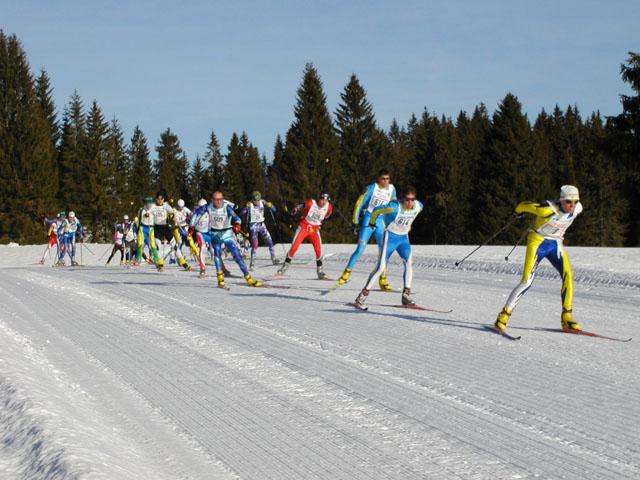 Le Jura , pays du ski de fond