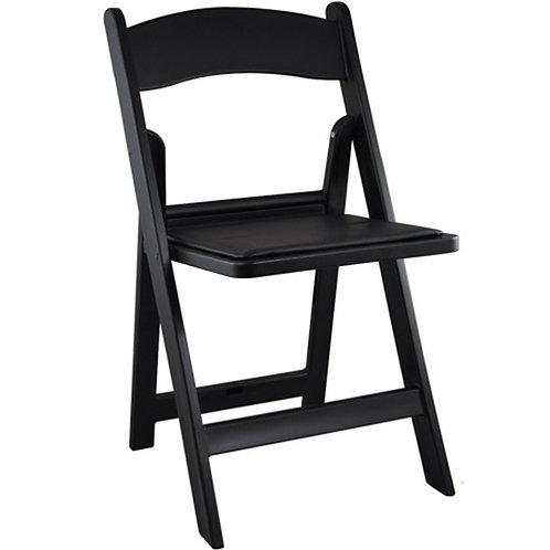 Resin Black Chair