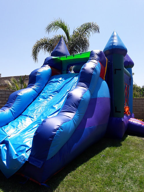 Castle Jumper with Slide