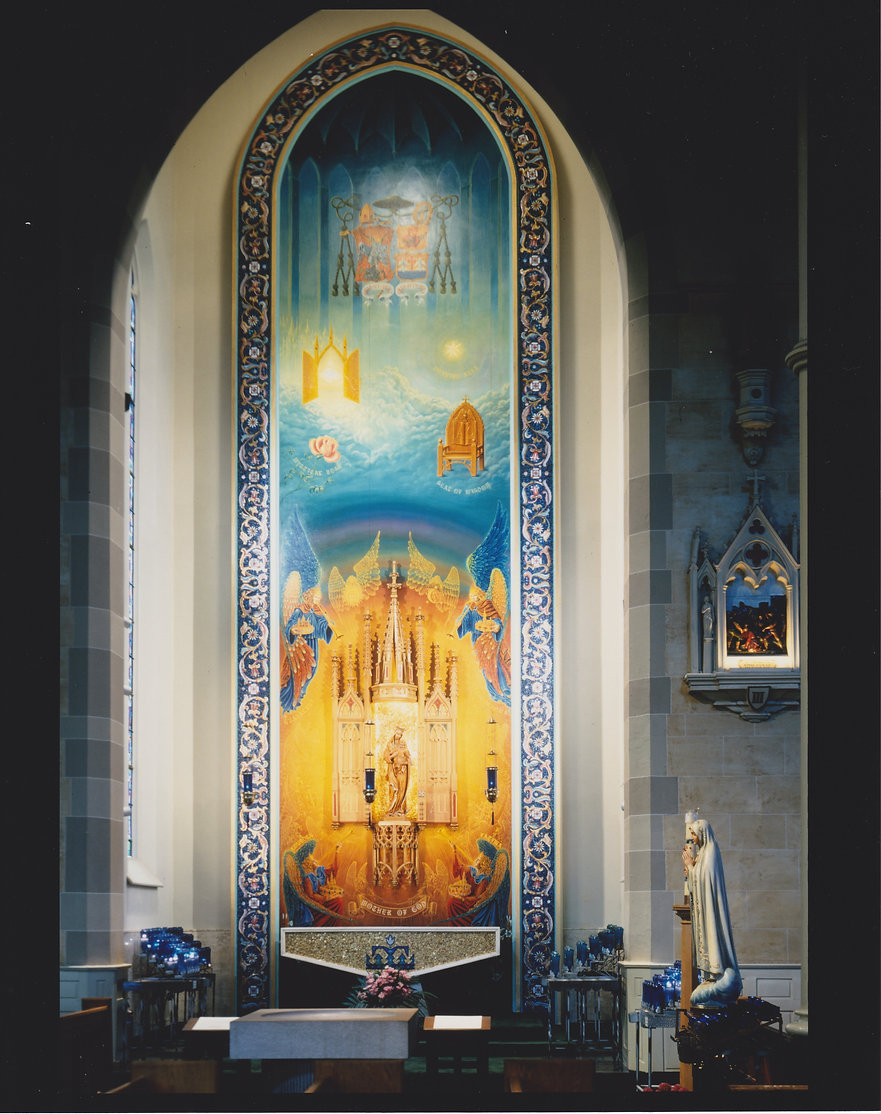 #300  Vaclav Vaca  MOTHER OF GOD SHRINE.