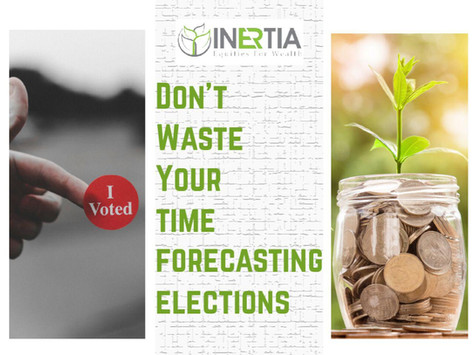 Three Reasons Why Investors Shouldn't Waste Their Time Forecasting Elections