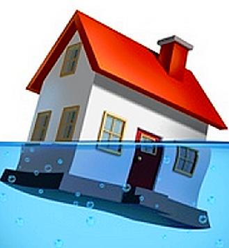 Maisons inondées Brille à neuf