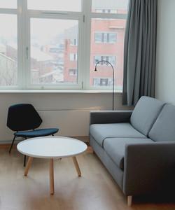 Stue med sovesofa