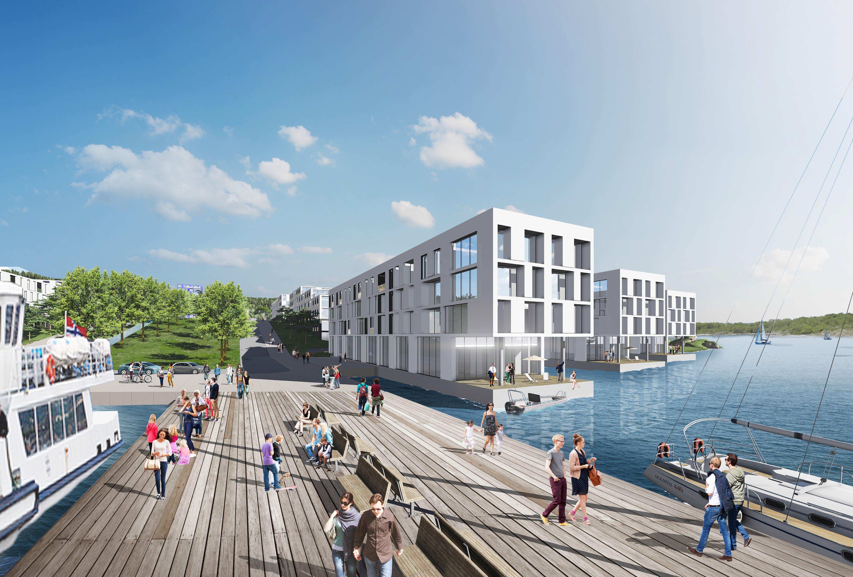 Gullaug Fjordby, illustrasjon