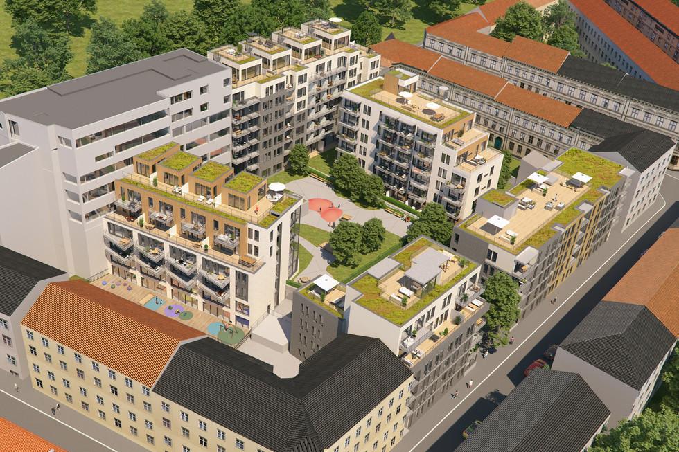 Millskvartalet på Grünerløkka utvikles til boliger.
