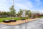 Sebtrumsparken på Saga Terrasse