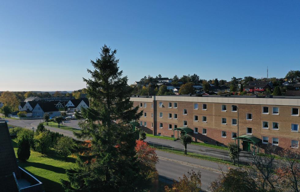 Denja Hage, utsikt fra tomten mot sørvest