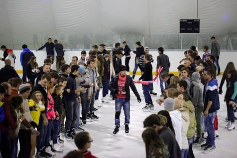 Ice team building