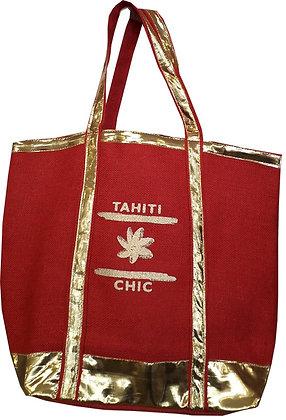 SAC JUTE TAHITI CHIC