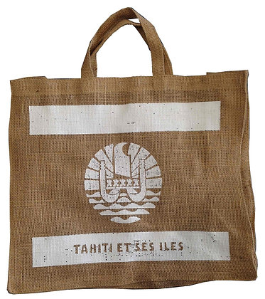 SAC DE COURSE TAHITI FLAG WHITE