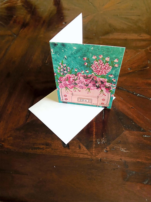Love U Pink Card