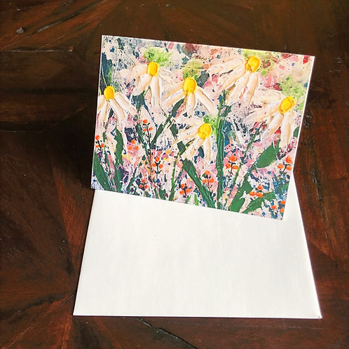 Give Me Wild Flowers Card