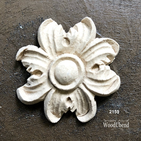 Four Flower Petal Woodubend item#2159