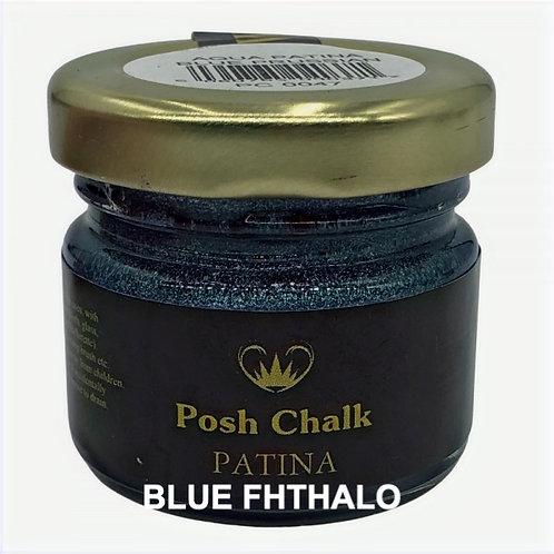 Woodubend's Posh Chalk Aqua Patinas color: Blue Fhthalo