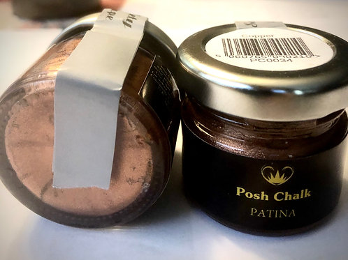 Posh Chalk Patina  Color: Copper