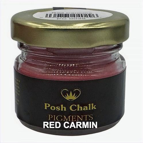Woodubend's Posh Chalk Pigments color:red carmin