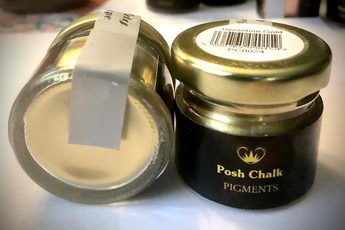 Posh Chalk Pigments Color: Byzantine Gold 25ml