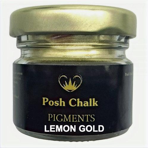 Posh Chalk Pigments color: Lemon Gold