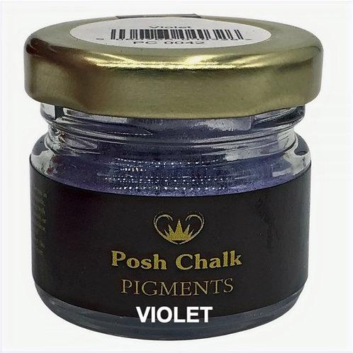 Woodubend's Posh Chalk Pigments color: violet