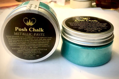 Posh Metallic Paste: Color Green Fhthalo 110ML