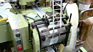 東京シール印刷機