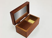 木製宝石箱オルゴール23弁