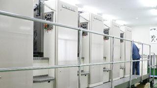 東京オフセット印刷機
