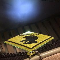 LEDライト付きリフレクターキーホルダー