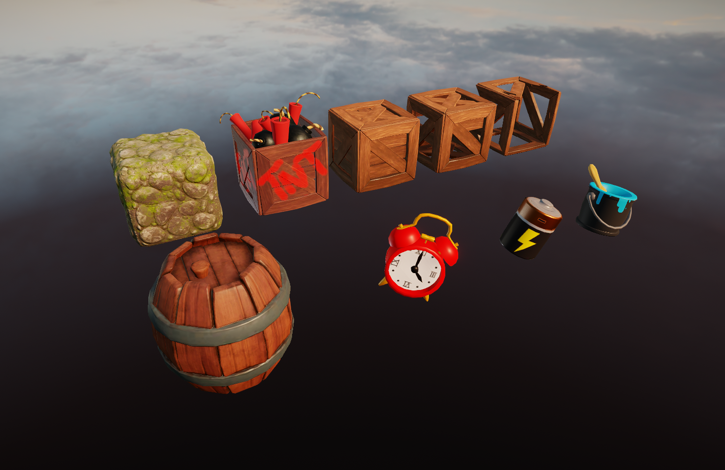 Environmental assets and props