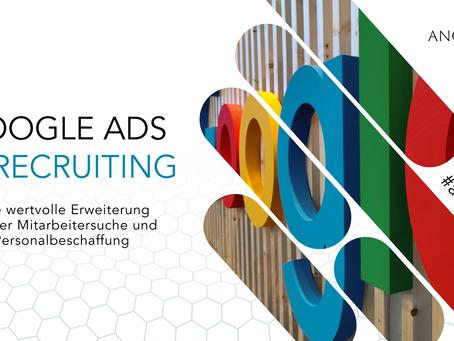 Recruiting, Mitarbeitersuche & Personalbeschaffung mit Google | ANGEHEUERT Basic der Personalsuche