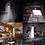 Thumbnail: Luminária Com Sensor De Presença Arandela Solar 20 Leds