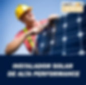 Instalador Solar de Alta Performance - E