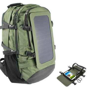 Mochila Solar com Carregador - Mochila Solar Fotovoltaica