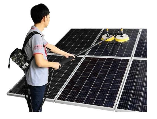 Escova Rotativa Para Limpeza de Painéis Solares