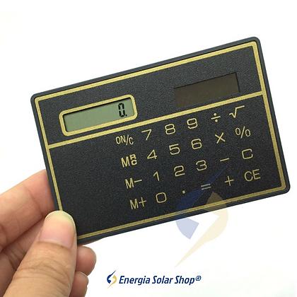 Calculadora Solar Portátil Ultra Fina