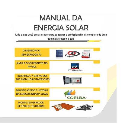 Manual da Energia Solar Fotovoltaica