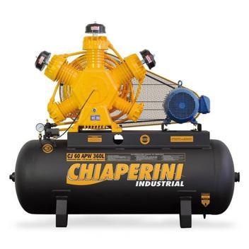 Compressor de ar alta pressão 60 pés 360 litros trifásico CJ 60 APW 360L