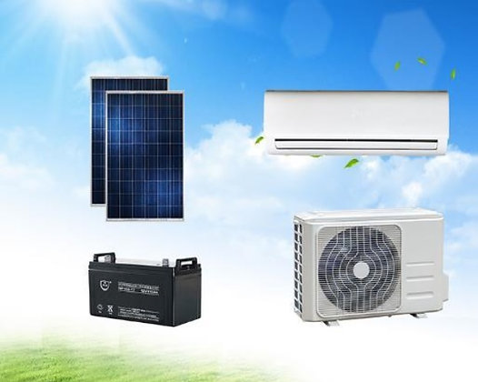 Ar Condicionado Split Solar 9000-12000 BTU 100% Energia Solar