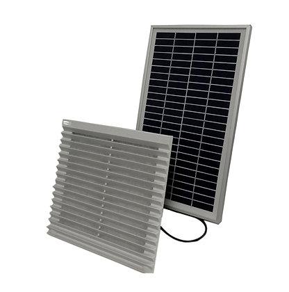 Exaustor Solar Ventilador de Exaustão Solar 7W 58cfm Parede