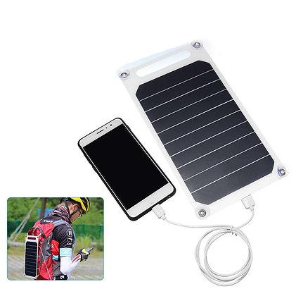 Painel Solar Portátil Fino USB 5V 10W DIY Carregador Para Telefones