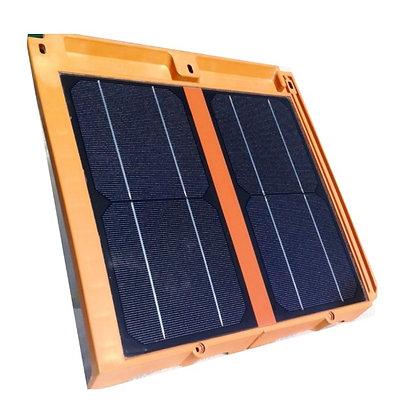 Telha Solar Integrada 20W Resina Termoplástica Eficiente e Sustentável