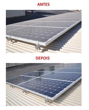 LPS Limpeza Painel Solar Produto para Limpar Painéis Solares