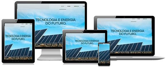 Criação Site Energia Solar Tenha Uma Forte Presença Online
