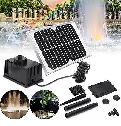 Bomba Solar para Jardim, Decoração, Piscina, Lagoa, Altura Máxima 100cm